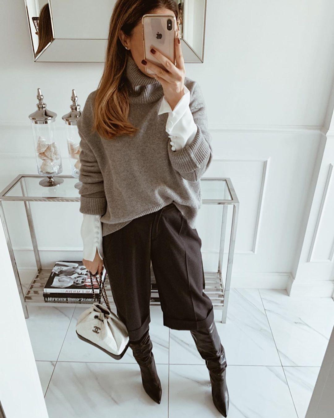 outfit invierno de mujer