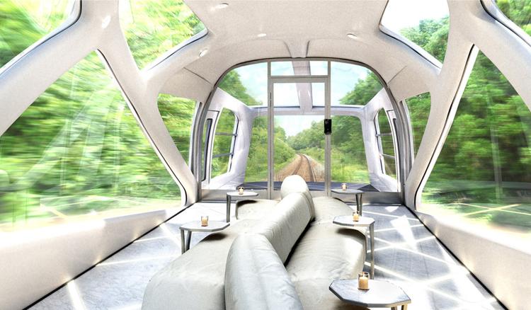 vagón mirador Shiki Shima