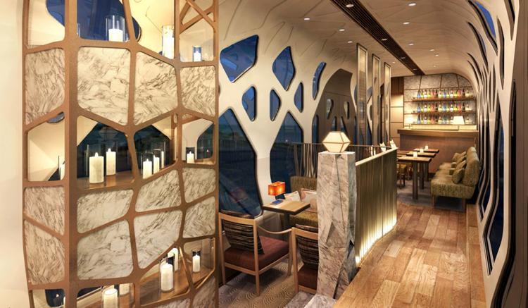 lounge salón Shiki Shima