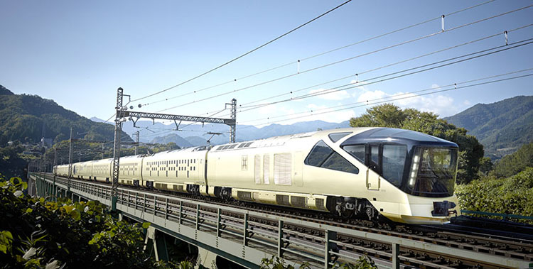 tren de lujo Shiki Shima