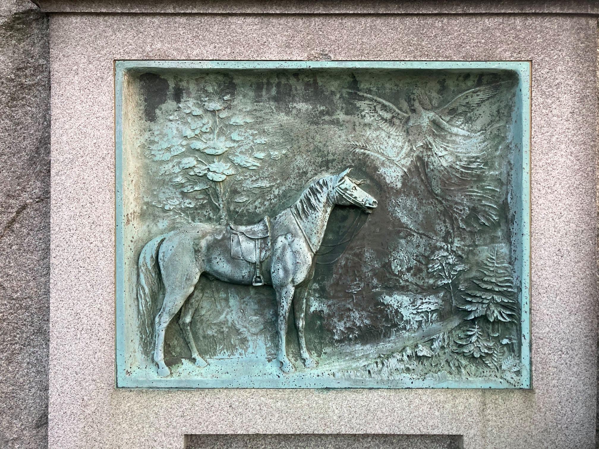 tumba de caballo