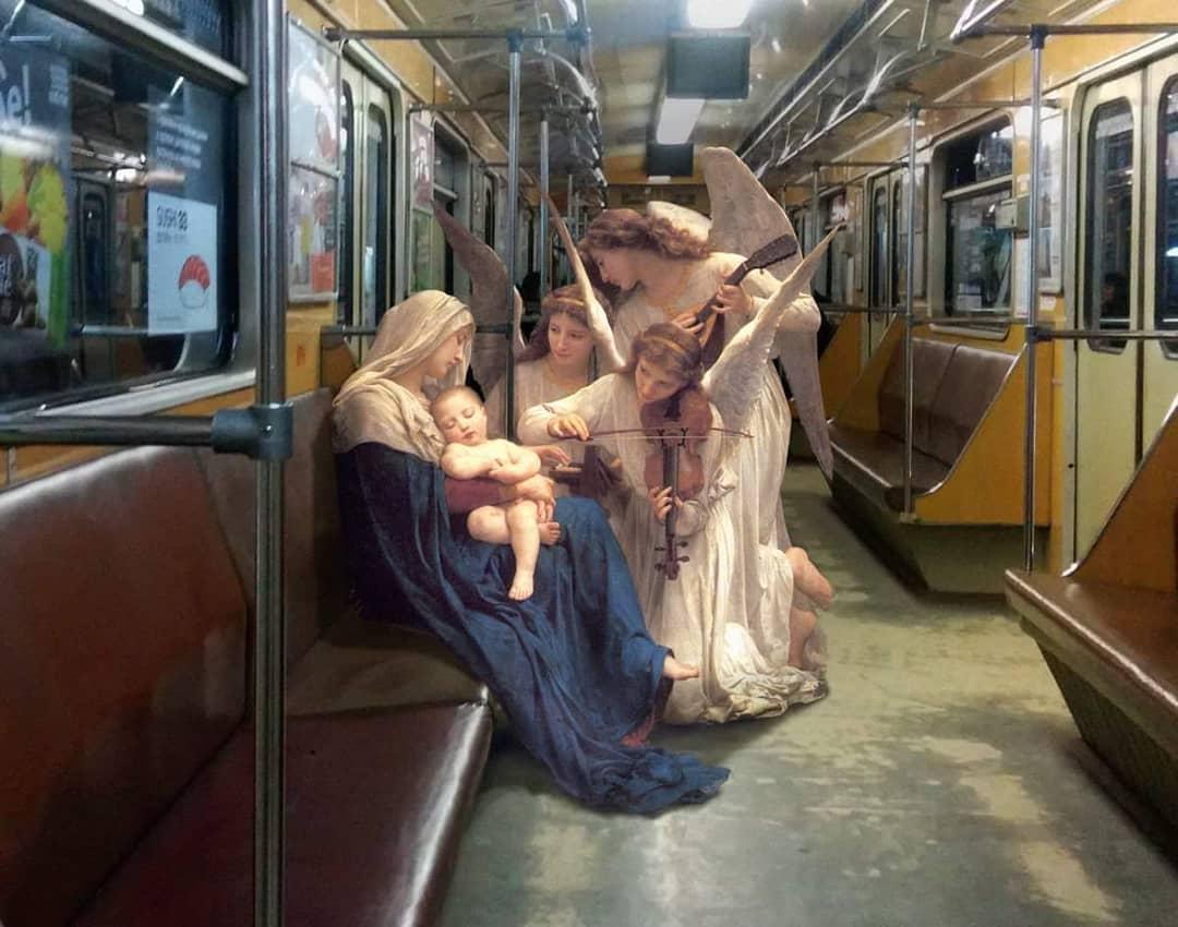 natividad en el metro