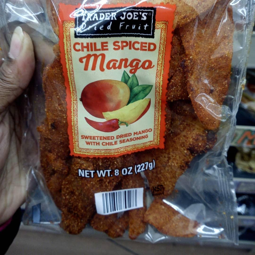 Mango seco sabor chile