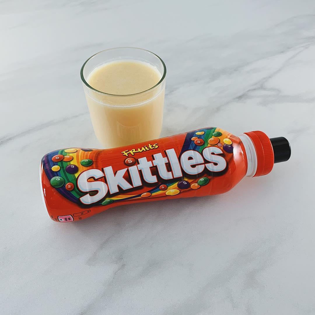 Bebida de Skittles