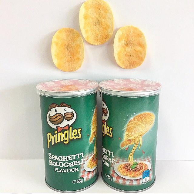 Pringles espaguetis a la boloñesa