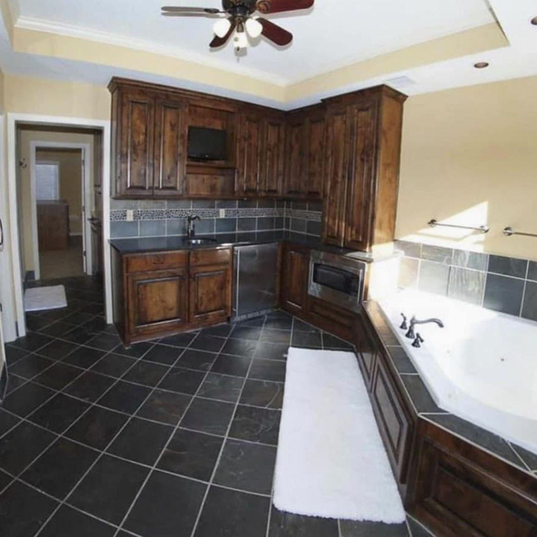 bañera cocina
