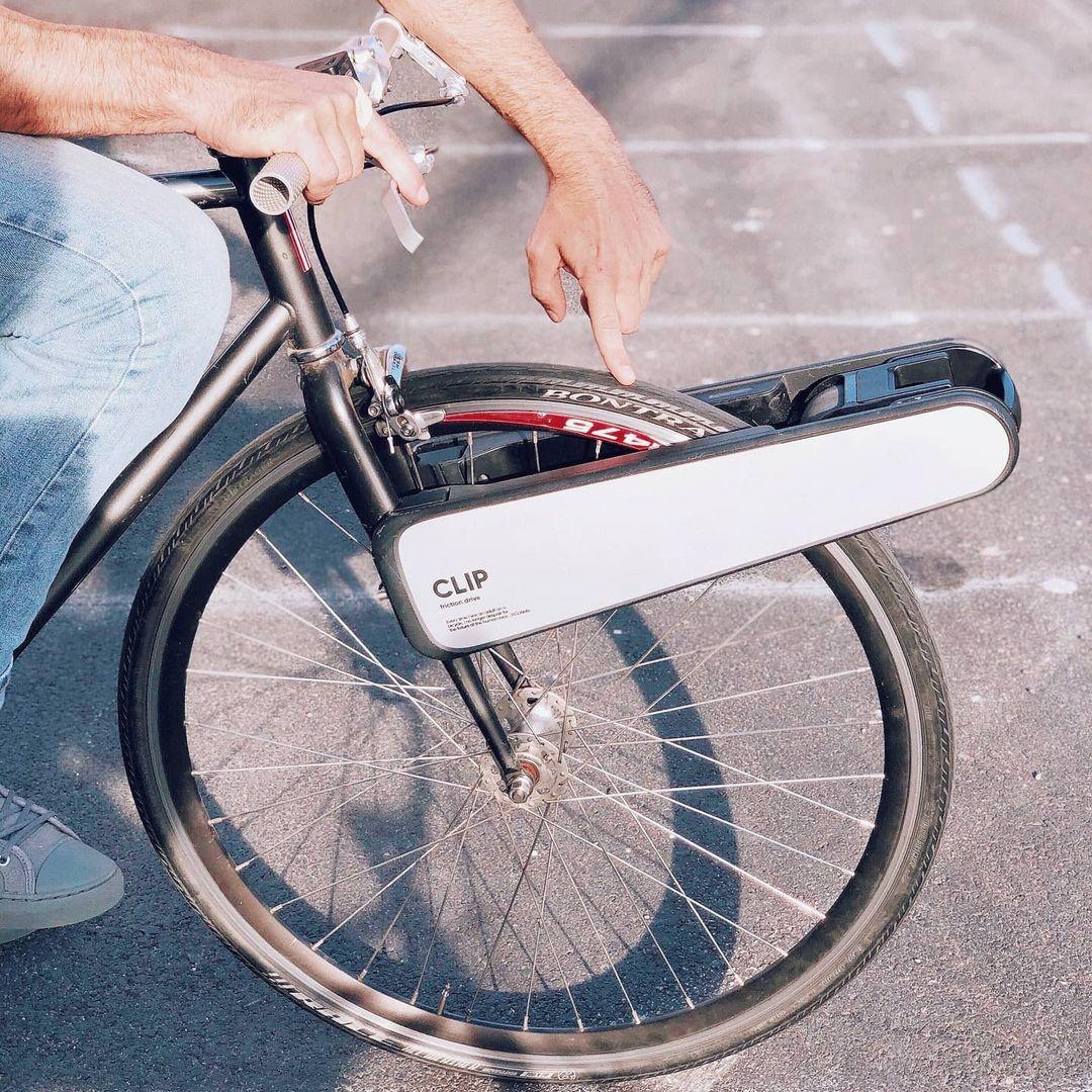 clip, el motor para convertir una bicicleta convencional en una bici eléctrica