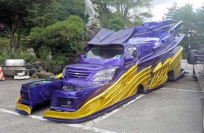coche tuneado hortera