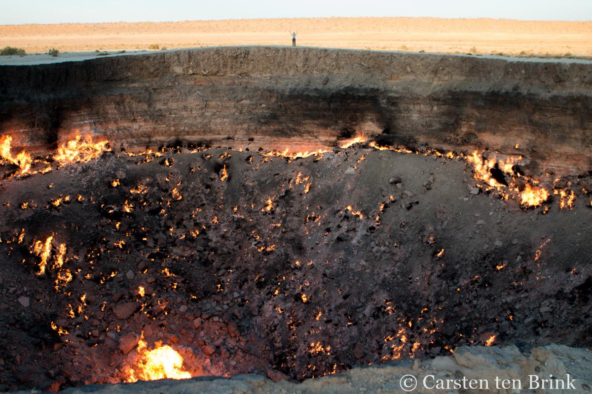 The Darvaza crater