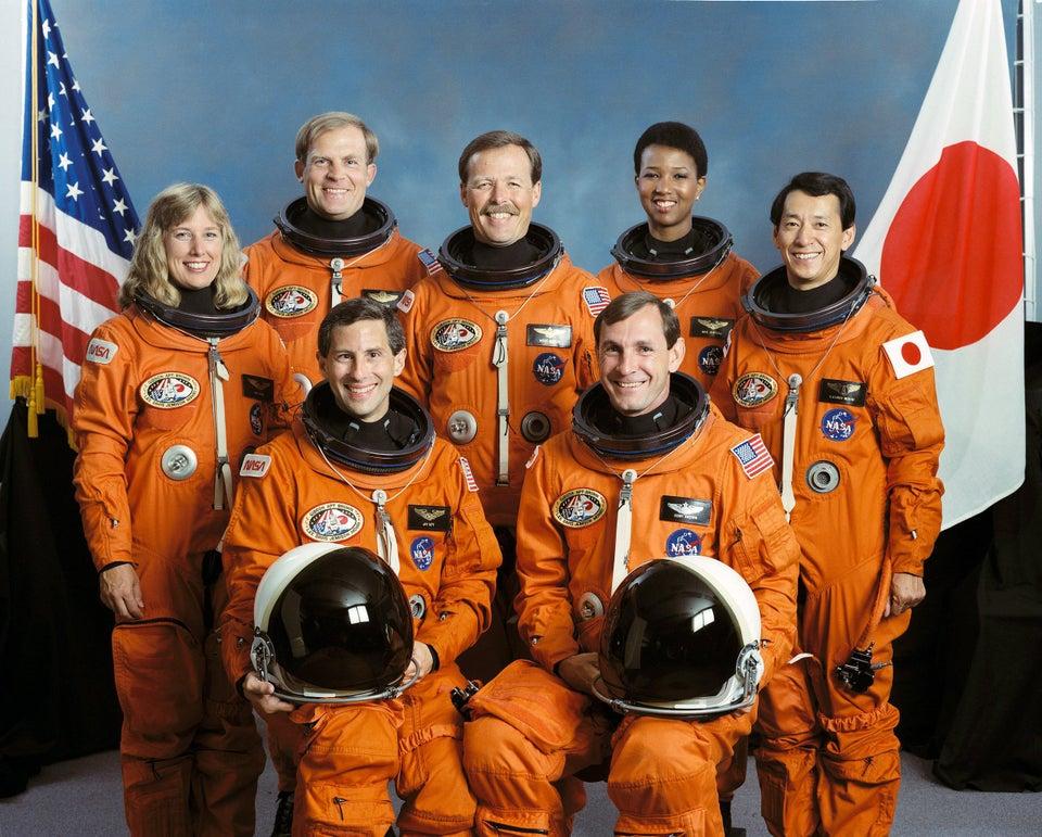 tripulación de la nave espacial Endeavour