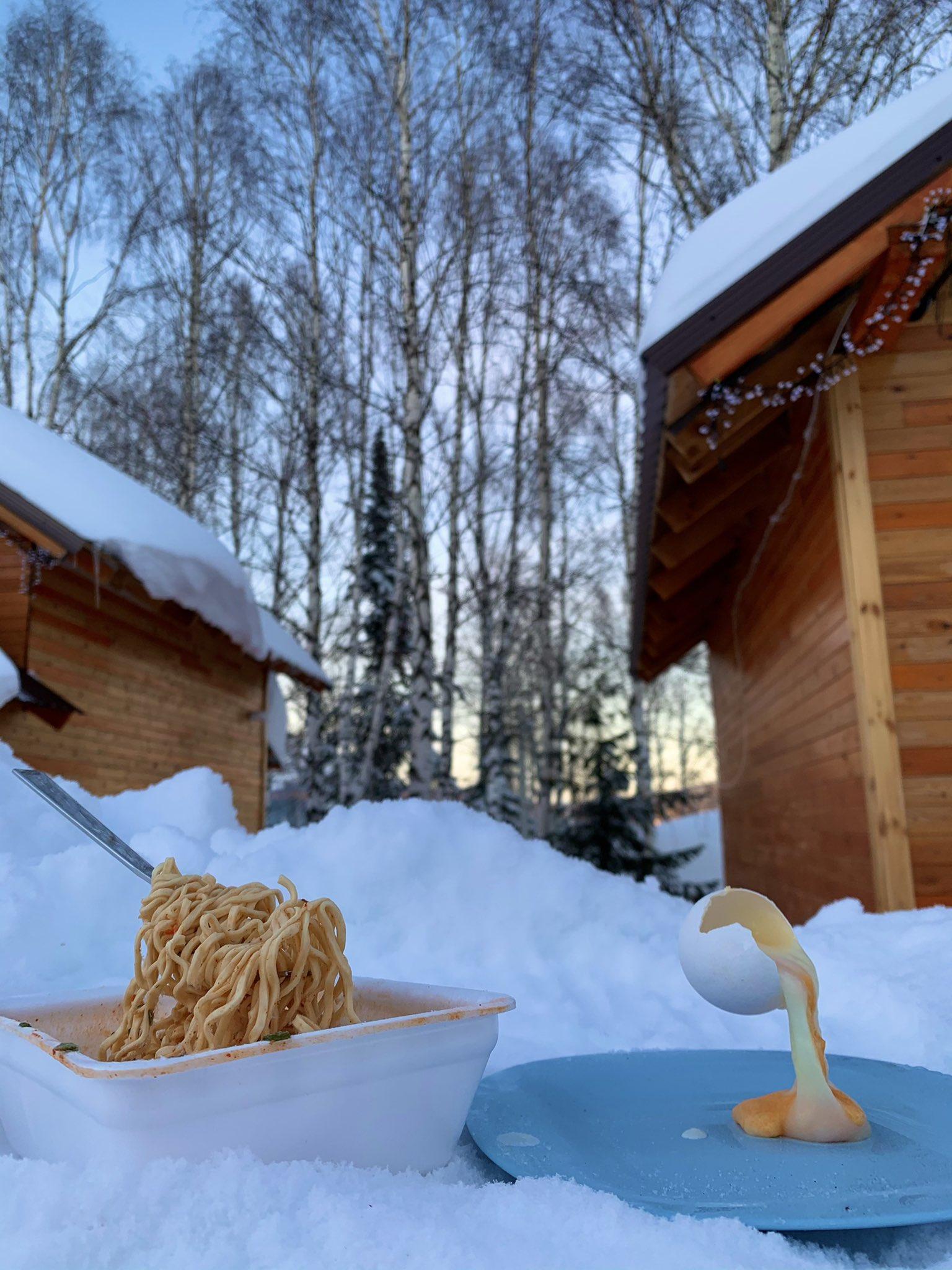 desayuno congelado con el frio 2