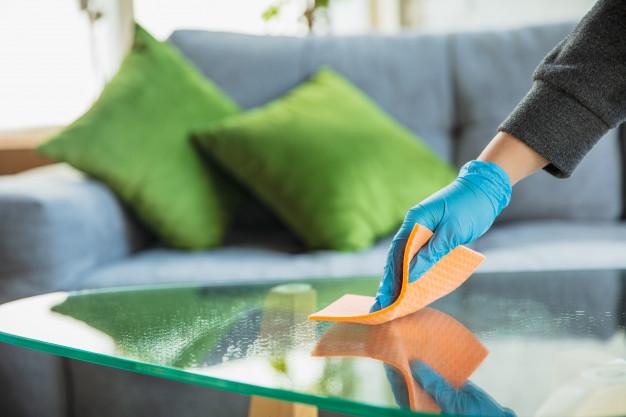desinfectando