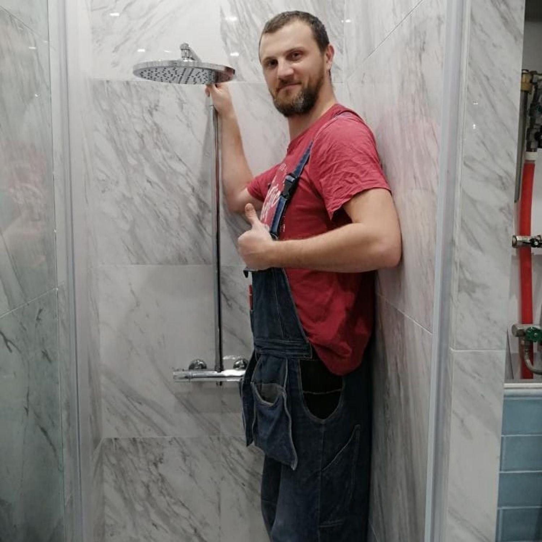 ducha pequeña