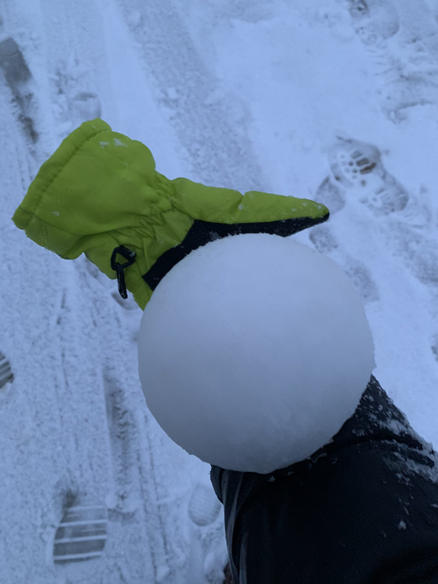 bola de nieve perfecta