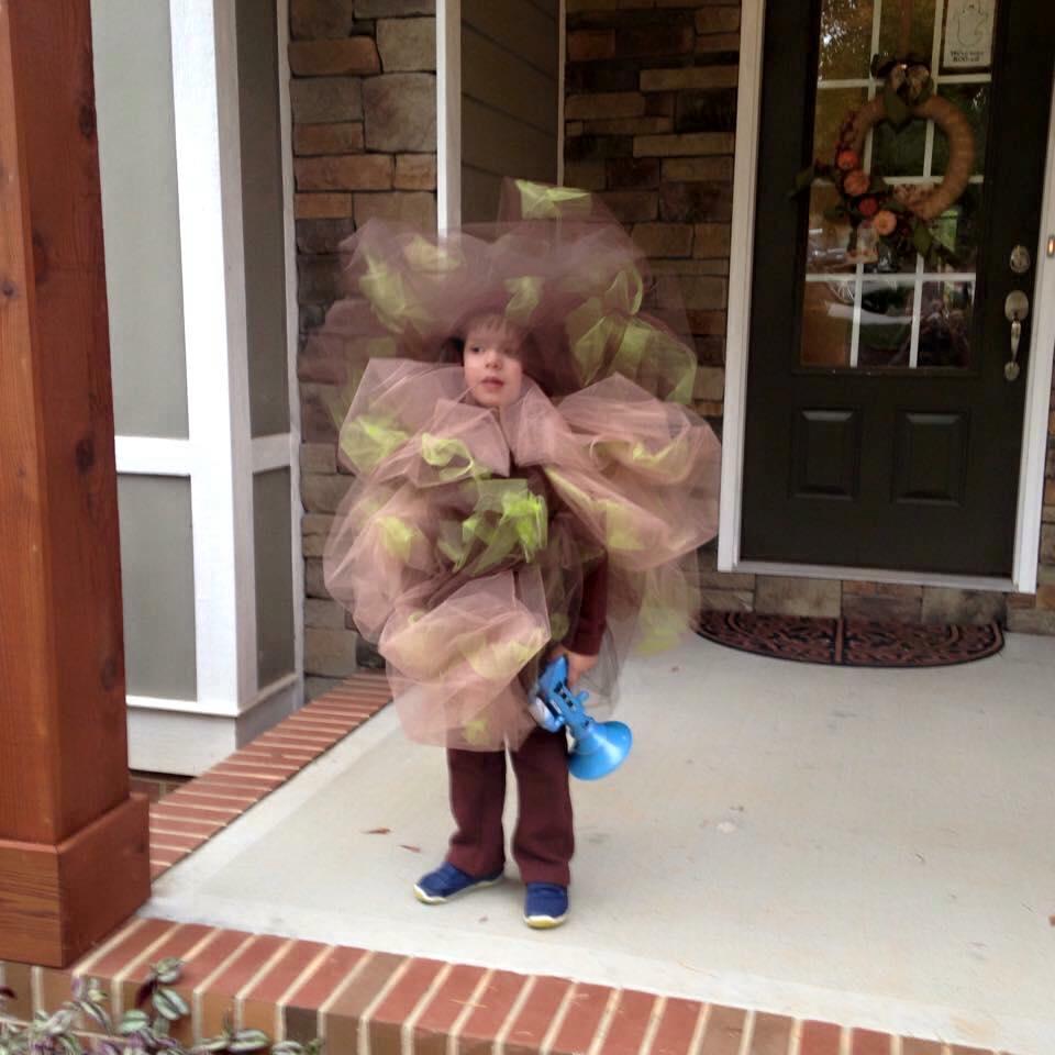 disfraces espantosos para niños