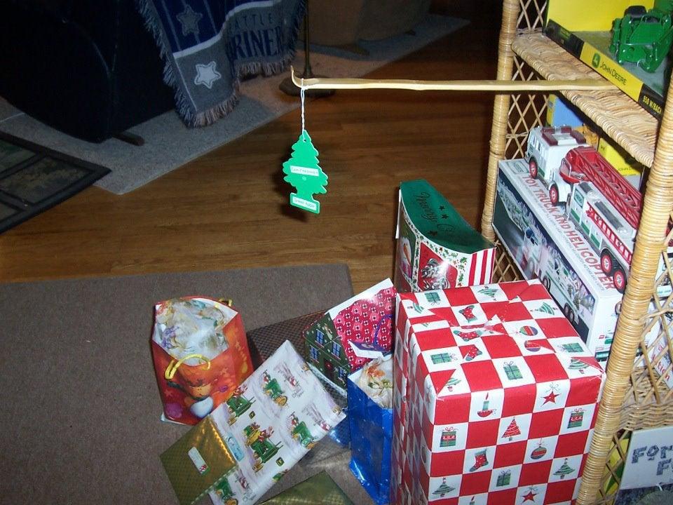 árbol de navidad fake