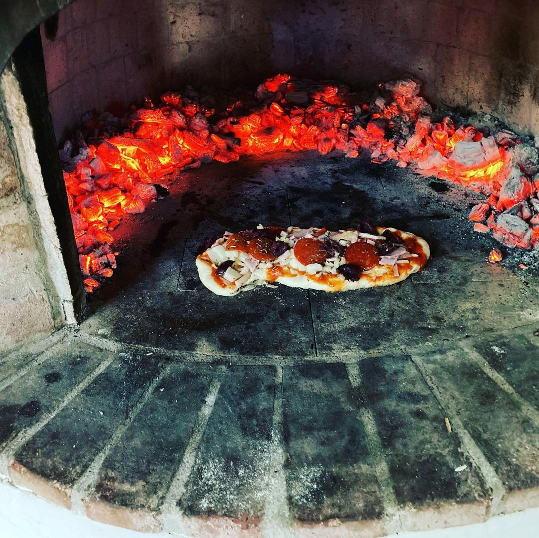 pizza en horno