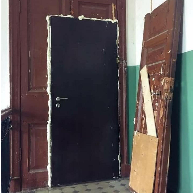 puerta obra