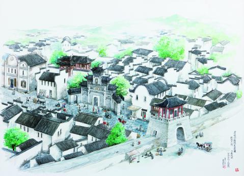 Shicheng en la antigüedad