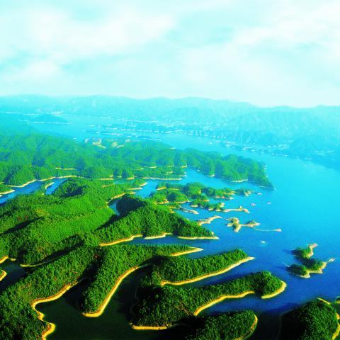 Lago de las Mil Islas