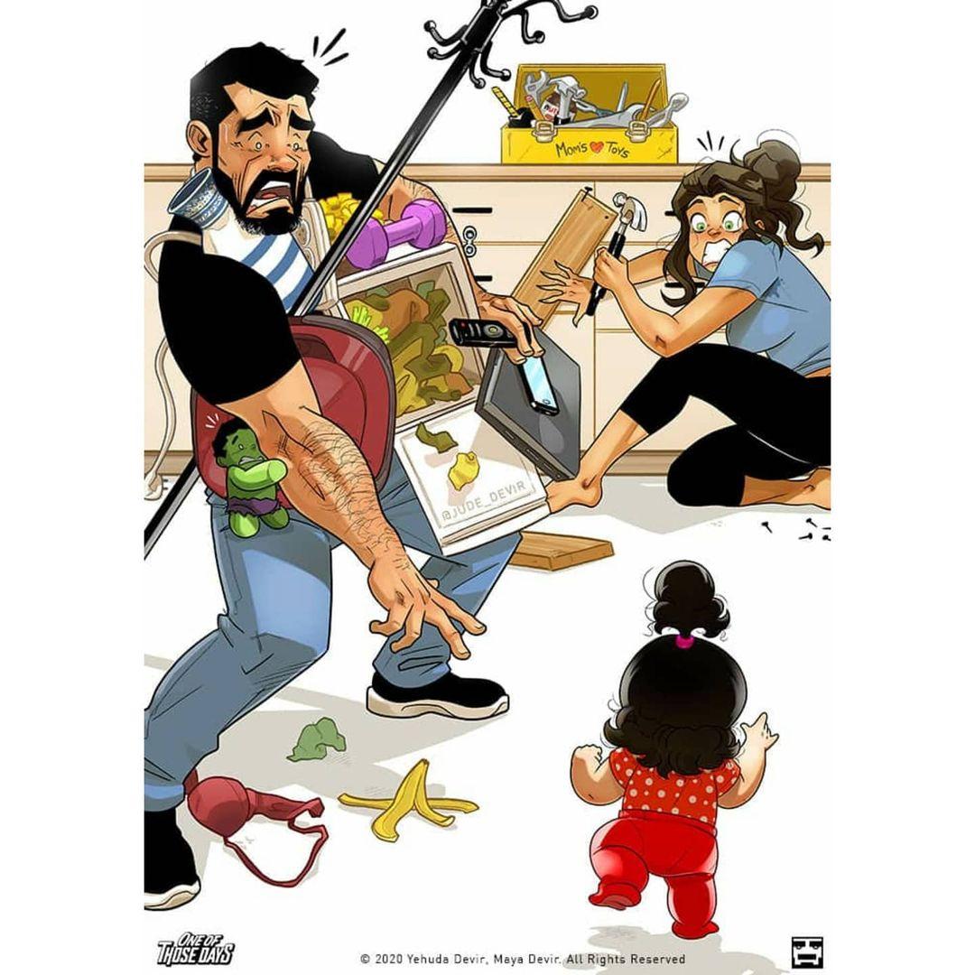 guardar todos los elementos peligrosos con niños en casa