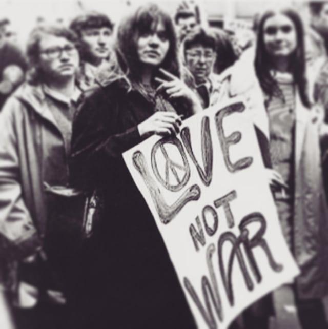 amor no guerra