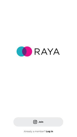 Raya app para citas