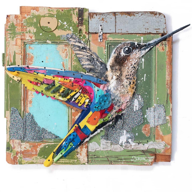 colibri basura
