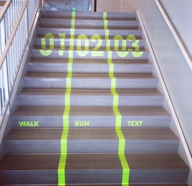 escaleras para gente lenta