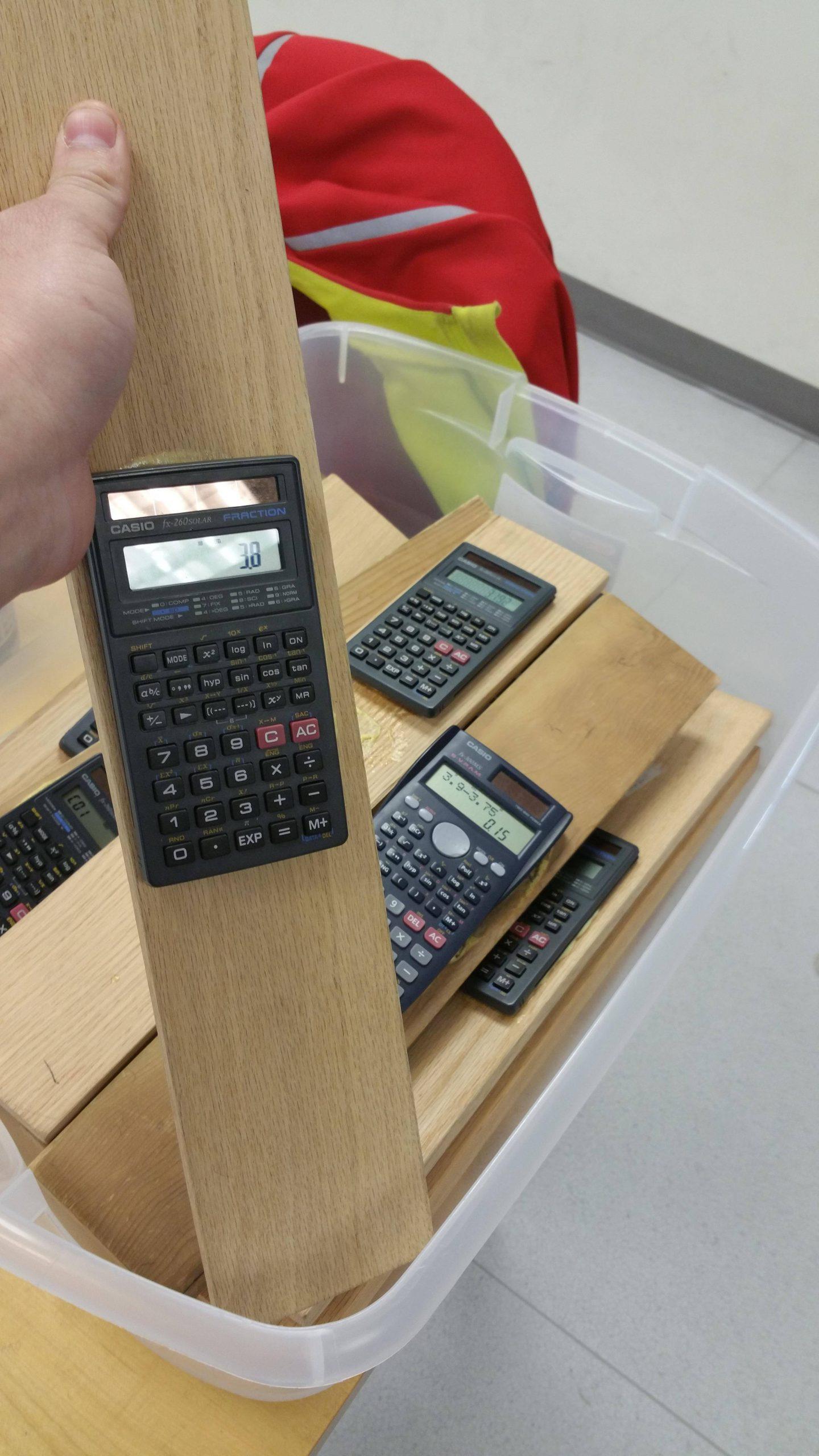 calculadoras a prueba de ladrones