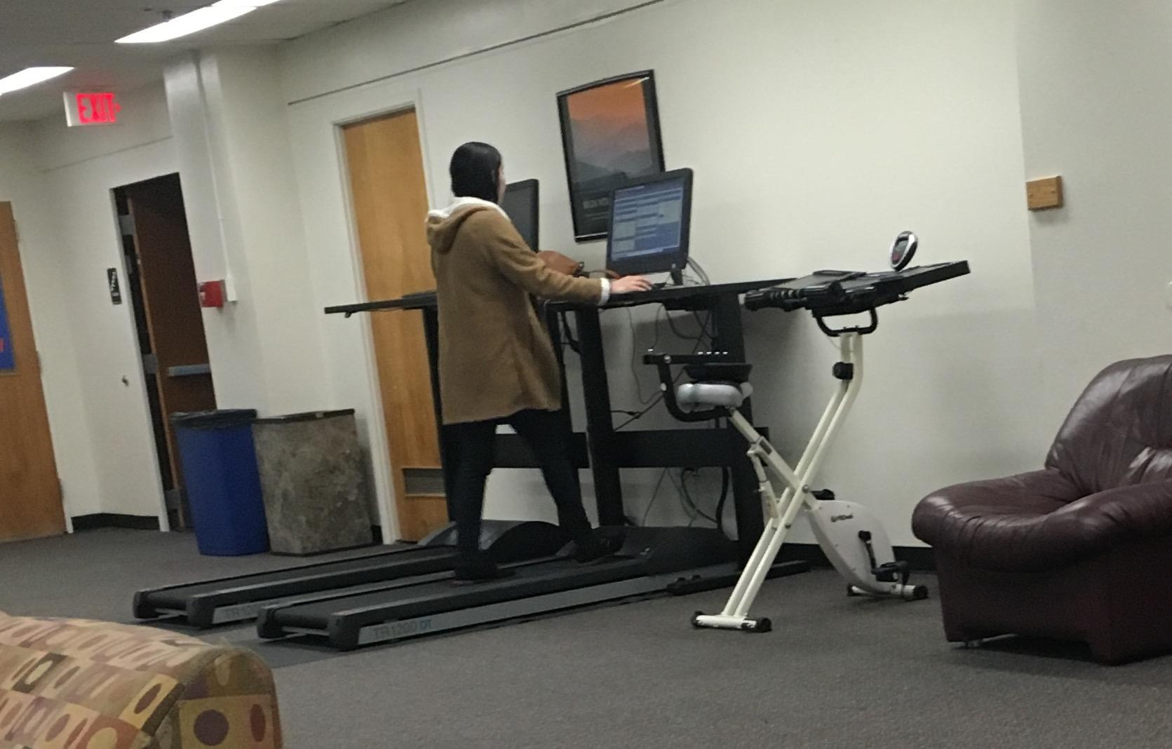 estudiar y hacer ejercicio al mismo tiempo