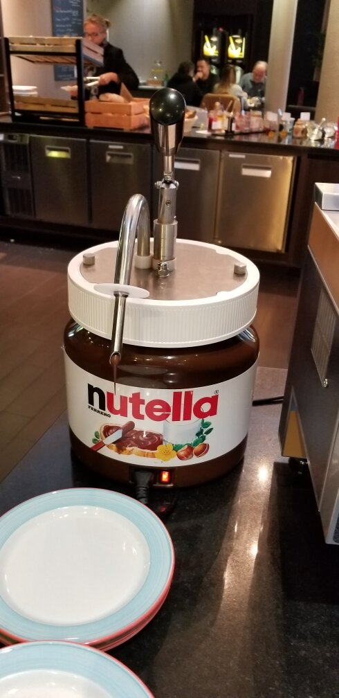 dispensador de nutella