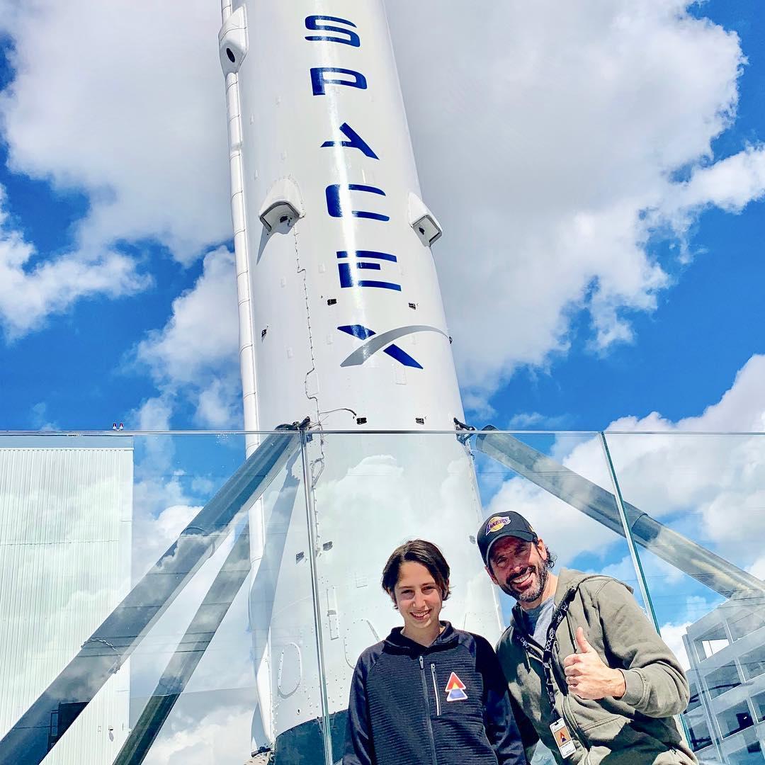 Visitando SpaceX