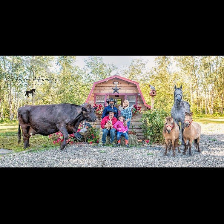 familia granja