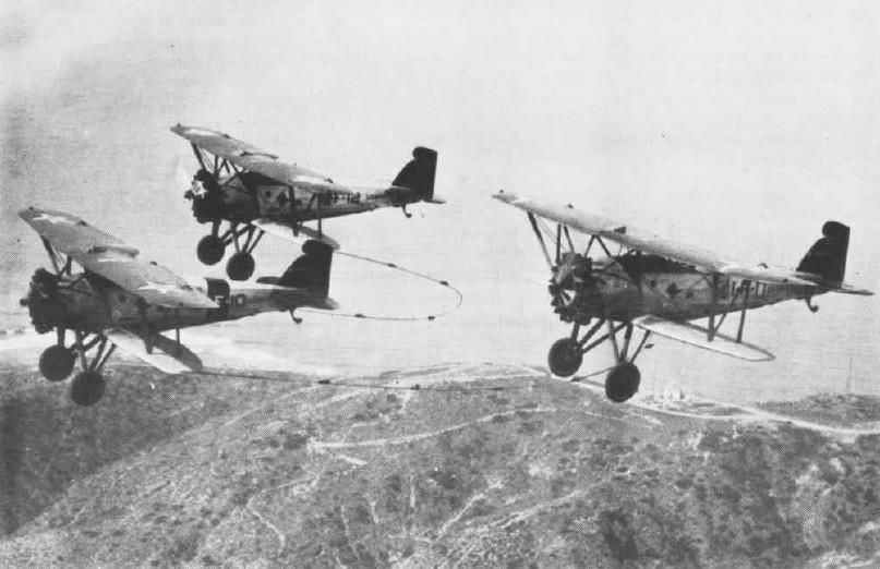 aviones atados