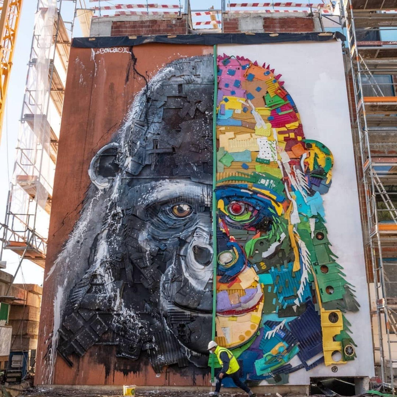 gorila basura