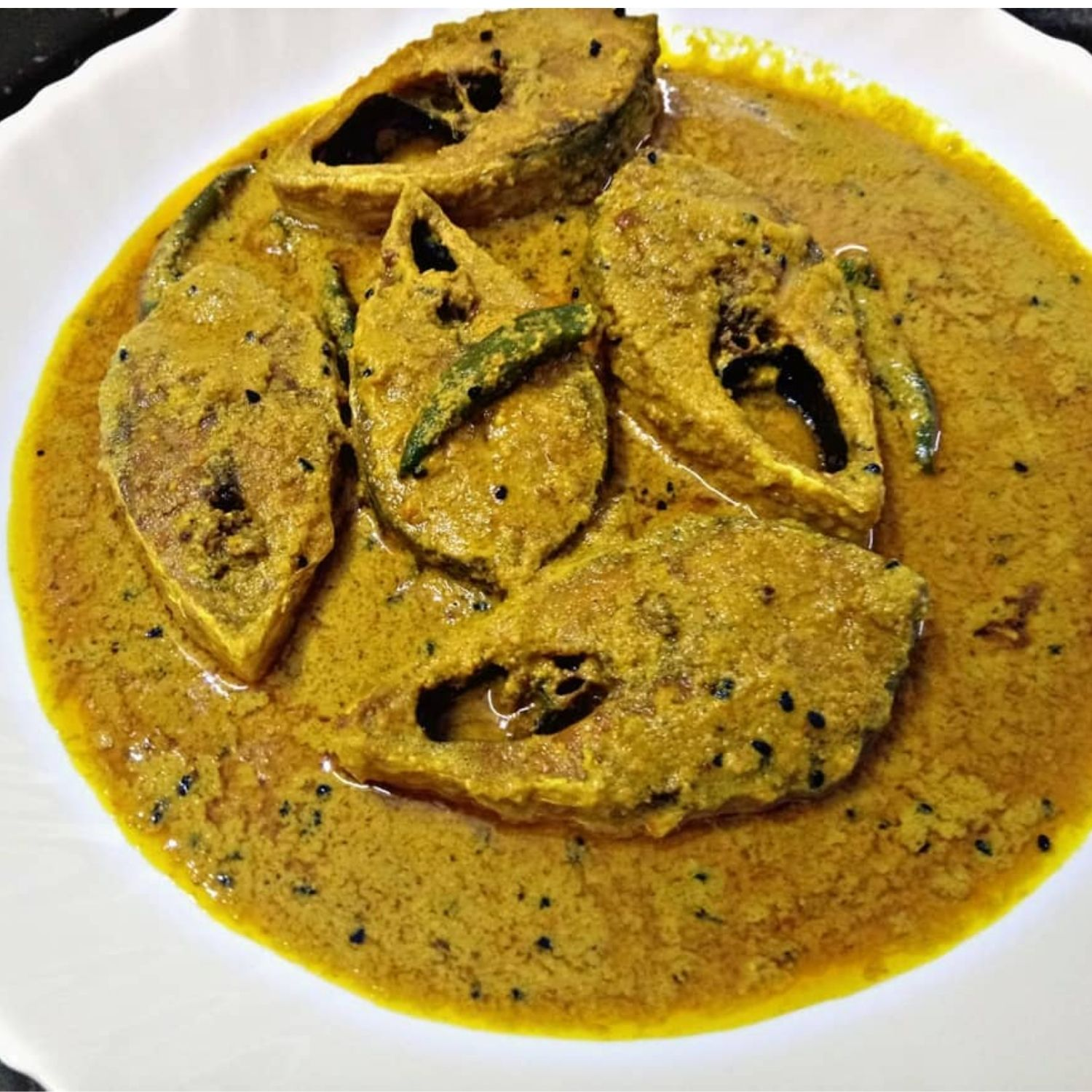 hilsa curry