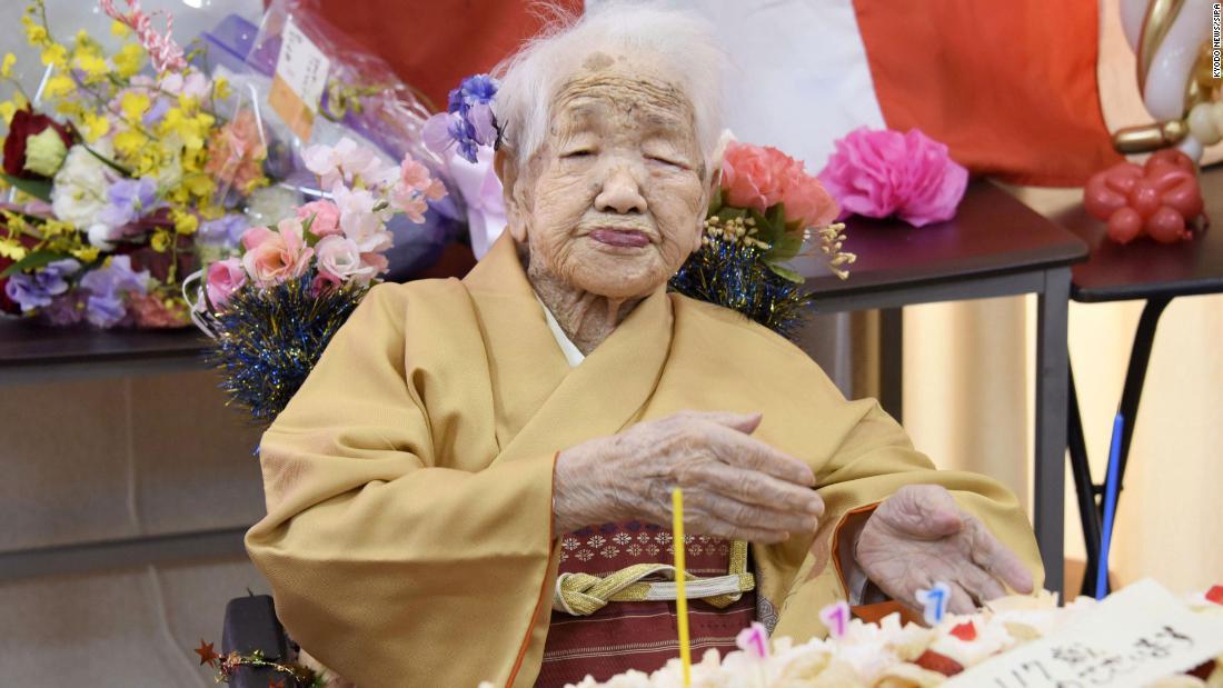 japonesa con 118 años