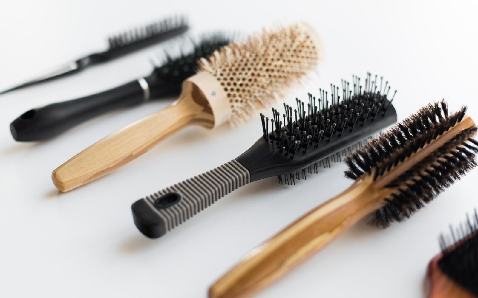 tipos de cepillos para el cabello