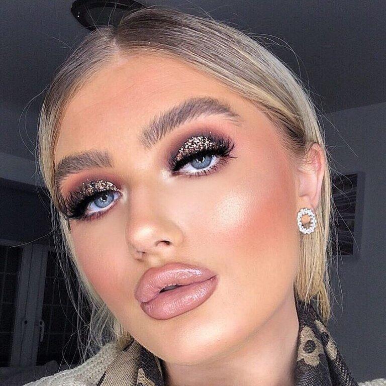 maquillajes excesivos