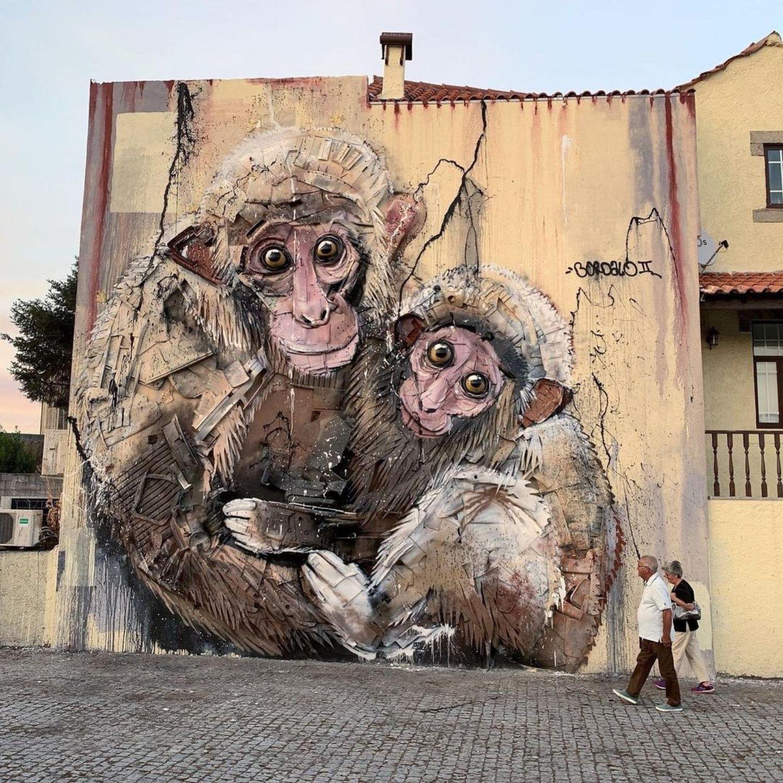 monos basura