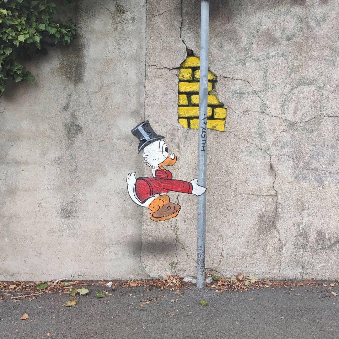 graffiti Tío Gilito