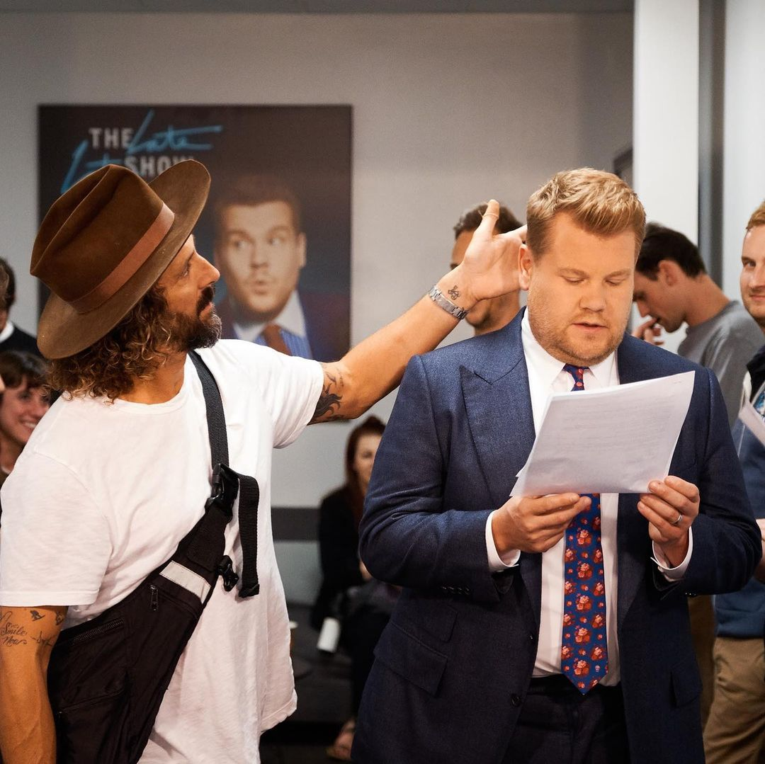 James Corden y Jason Schneidman
