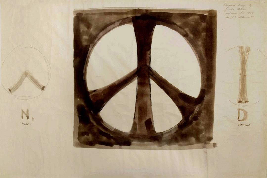 simbolo de la paz original