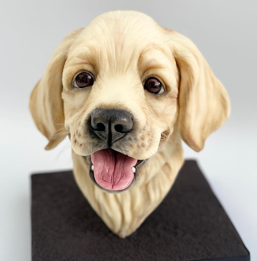 tarta cachorro labrador