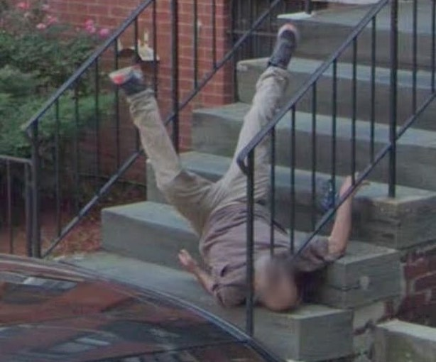 caída hombre