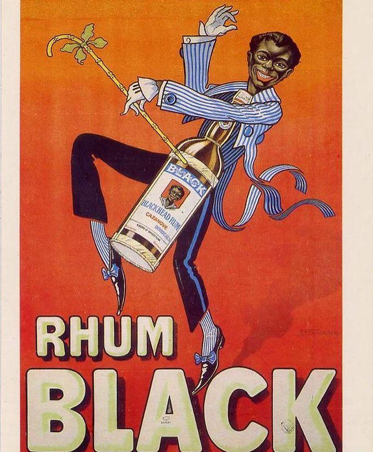 anuncio de bebidas racistas