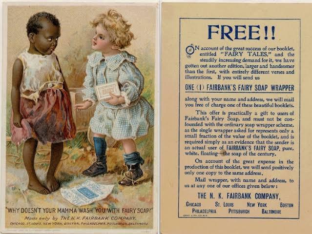 anuncio de jabón racista