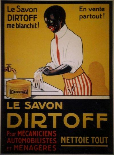 anuncio de jabón de manos racista