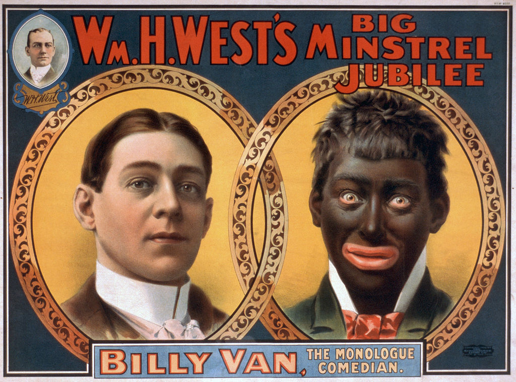 cartel publicitario racista